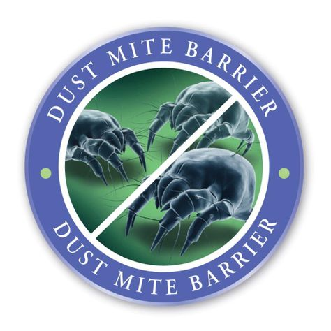 Dust Mite Barrier Icon