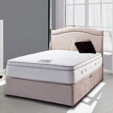 Bed E Buys Deluxe Beds Cezanne 1000 Pocket Divan Set