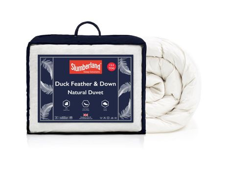 DUCK FEATHER 10.5 DUVET WITH DUVET
