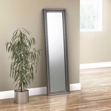 Lansdown Pewter Dress Mirror