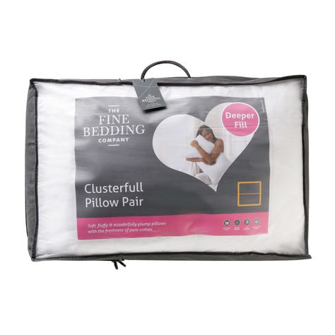 Bed E Buys Fine Bedding Company Clusterfull Pillow Pair