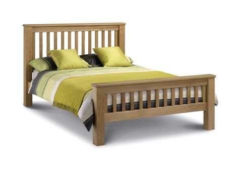 Bed E Buys Abbey Oak High Foot End Bedframe