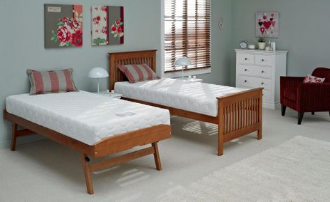 Relyon Duo twin with foam mattresses