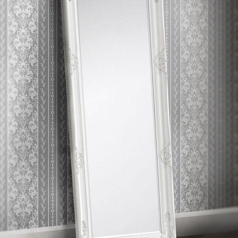Milsom White Lean to Dress Mirror