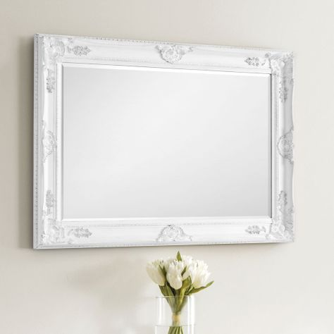 Henrietta White Wall Mirror