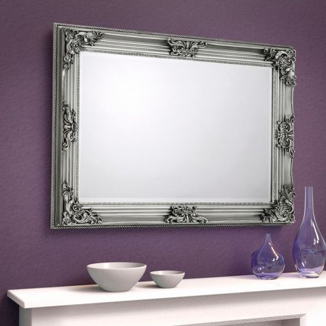 Circus Pewter Wall Mirror