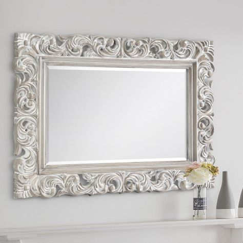 Victoria Distressed Wall Mirror