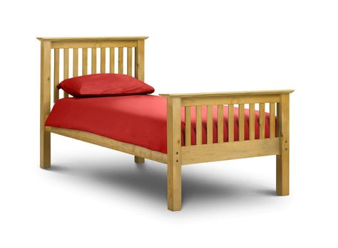 Bed E Buys Barcelona High Foot End Pine